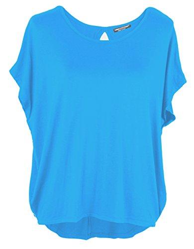 Emma & Giovanni Basic Sommer T-Shirt/Oberteile Kurzarm - Damen