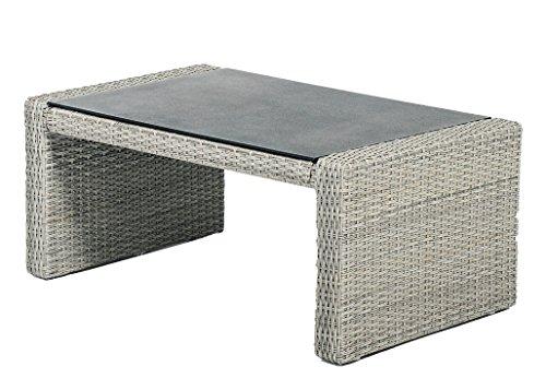 Gartenmöbel Loungetisch Gartentisch Beistelltisch Polyrattan BARCELONA