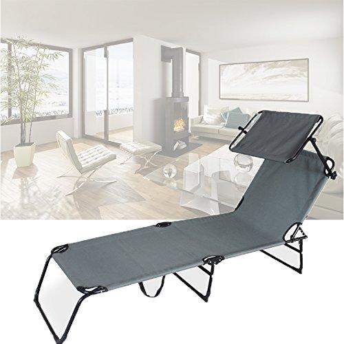 HG® Sonnenliege Gartenliege Strandliege Liege Sonnendach bis Relaxliege Hawaii Garten