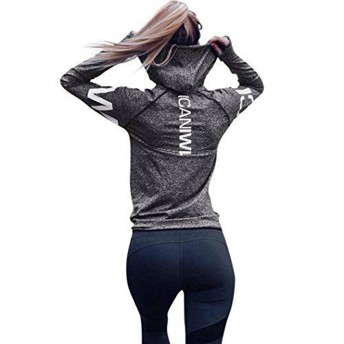 Internet Damen Letter Trainingsanzug Kapuzen Sweatshirt Sportswear Bluse Tops