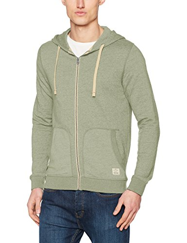 JACK & JONES Herren Sweatjacke Jorrecycle Sweat Zip Hood Noos, 8er Pack