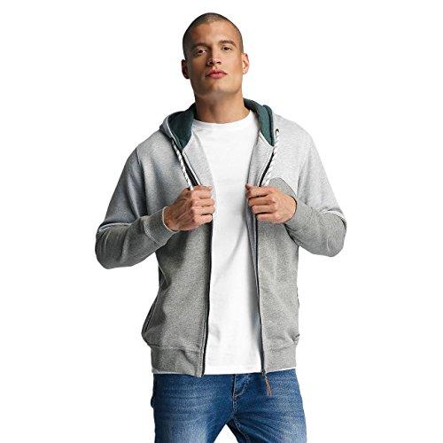 JUST RHYSE Palo Verde Hoodie Herren Pullover Kapuze Seitentaschen Männer Sweatshirt Zip Jacke Grau Grün Hellgrau DefShop S M L XL XXL