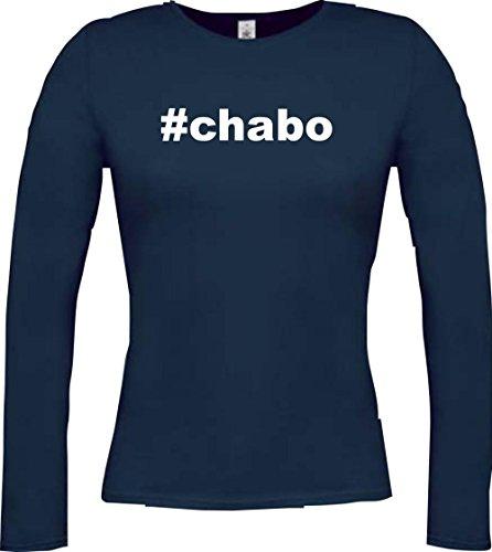 Krokodil Lady Langarmshirt #CHABO Hashtag , viele Farben, Größe XS-XXL