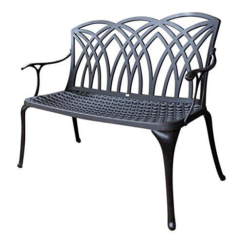 Lazy Susan - APRIL Gartenbank aus Aluminium