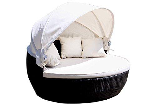 Lounge Insel 170 cm Sonnenmuschel Sonneninsel Liege Relax