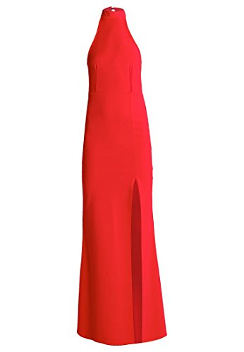MISSGUIDED PETITE Maxikleid - red Grösse 40
