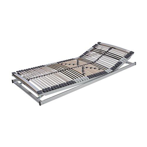 Malie 7-Zonen Lattenrost Classic Flex 42 KF, Kopf- und Fußteil manuell verstellbar