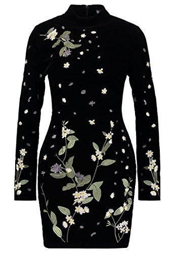 Missguided Freizeitkleid, Kleid Damen, Größe: 36 schwarz