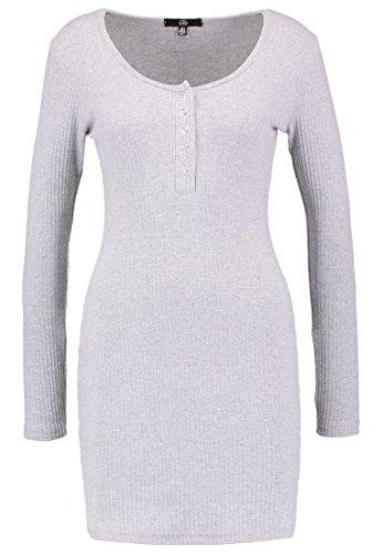 Missguided Strickkleid, Damen, Kleid Größe: 38, Grau