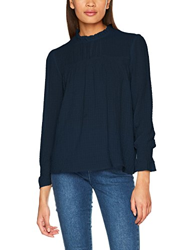 ONLY Damen Bluse Onlcora L/S Smock Top Wvn