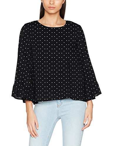 ONLY Damen Bluse Onlmesa Aop Wide Sleeve Top Wvn