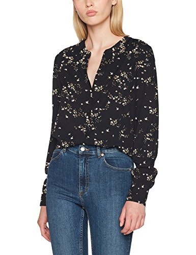 ONLY Damen Bluse Onlnova Button Shirt Aop Wvn