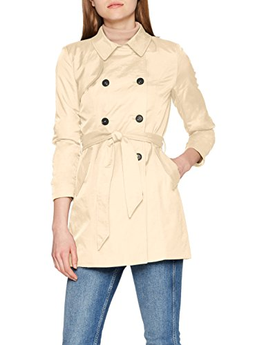 ONLY Damen Mantel Onllucy Long Trenchcoat Cc Otw