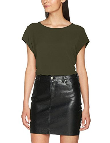 Only Damen T-Shirt Onlvic S/S Solid Top NOOS Wvn