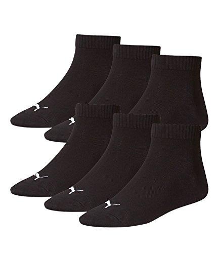 PUMA Unisex Quarter Quarters Sportsocken Kurz Socken 6 Paar 251015