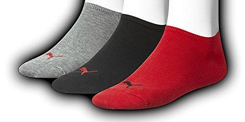 PUMA Unisex Sneakers Socken Sportsocken, 6 Paar