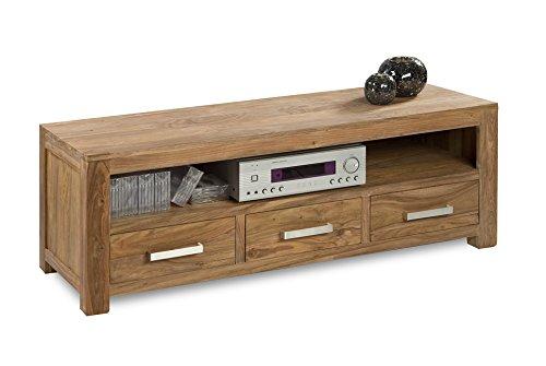 Quadrato - Lowboard/TV Board INDO, Holz Sheesham natur