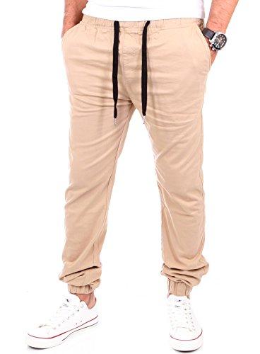 Reslad Chino Hose Herren Freizeithose Jogginghose | Herren-Hosen Slim Fit | Stoffhose für Männer Jogging Hose lang | Jogger Jeans Pants