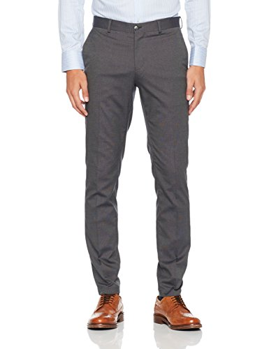 SELECTED HOMME Herren Anzughose Shdskinny-Mathsaul Grey Trouser Noos
