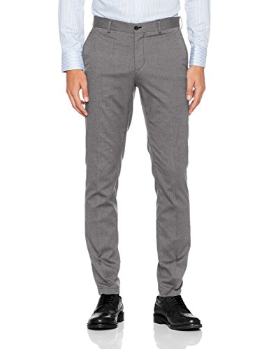 SELECTED HOMME Herren Anzughose Shdskinny-Mathsaul Lt. Grey Trouser Noos