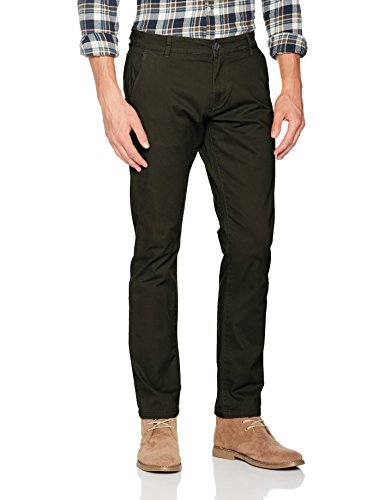 SELECTED HOMME Herren Hose Shhthreeparis Forest Night St Pants Noos