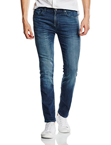 SELECTED HOMME Herren Jeanshose Shntwomario 1393 Knit Jeans Noos