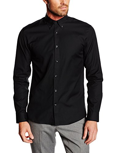 SELECTED HOMME Herren Slim Fit Business Hemd One Oak. Shirt Ls Noos Id