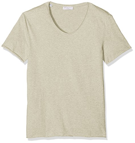 SELECTED HOMME Herren T-Shirt Shdmerce Melange SS O-Neck Tee NOOS