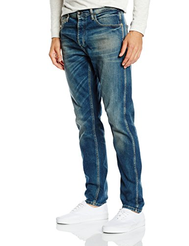 SELECTED HOMME Herren Weites Bein Jeanshose Five Rico 1379 St-I