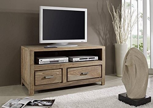 Sheesham Massivmöbel geölt TV-Board Palisander Holz massiv Massivholz natur braun Buddha #119