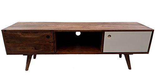 Sideboard Retro Oslo TV Board Sheesham Massivholz 140