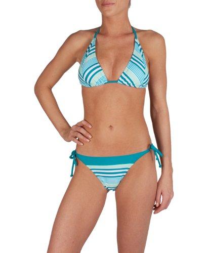 Speedo Damen Bikini I2 Clio Triangle Aop Classic Str
