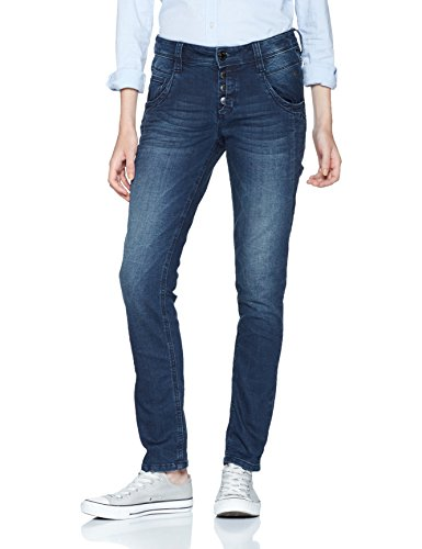 TOM TAILOR Damen Bootcut Jeans Relaxed Tapered