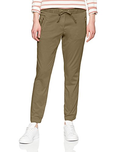 TOM TAILOR Damen Hose Sateen Ankle Loose Fit Pants