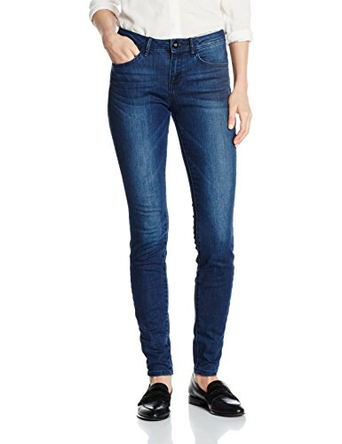 TOM TAILOR Damen Jeanshose Alexa Denim Blue