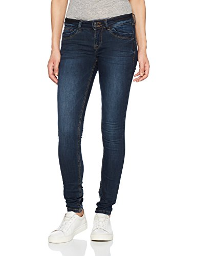 TOM TAILOR Denim Damen Slim Jeans Blue Jona with Details