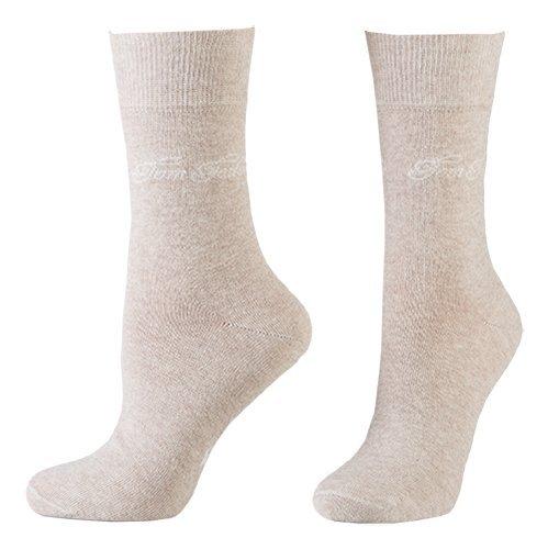 Tom Tailor 2er Pack Basic Women Socks 9702 792 beige Doppelpack Strümpfe Socken