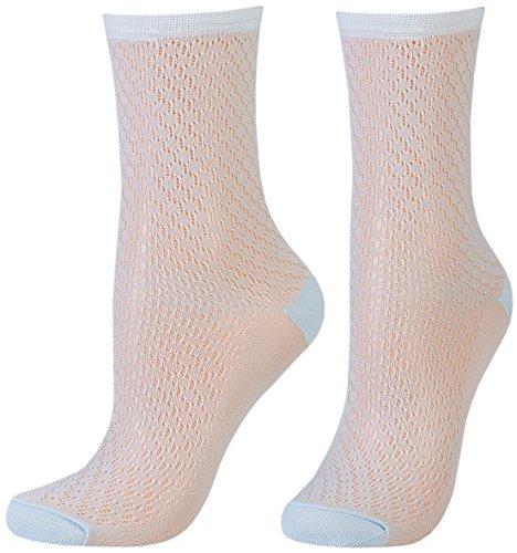 Tom Tailor 2er Pack Women Socken transparent bleu