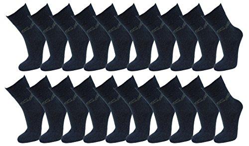 Tom Tailor Damen Uni Socks 20 Paar 430 denim melange jeans blau meliert 35-38