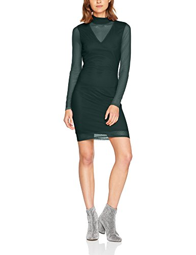 VERO MODA Damen Kleid Vmkira Ls Mesh Short Dress