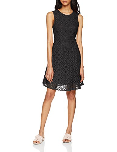 VERO MODA Damen Kleid Vmsimone Lace S/L Short Dress Noos