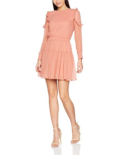VERO MODA Damen Kleid Vmsmilla Ls Short Dress