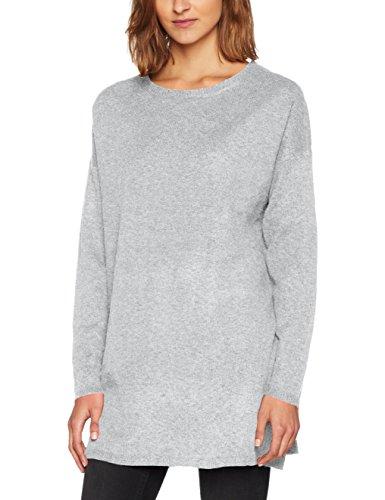 VERO MODA Damen Pullover Vmbrilliant Ls O-Neck Long Blouse Noos