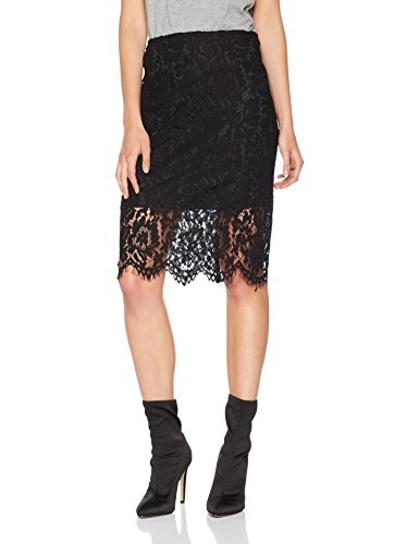 VERO MODA Damen Rock Vmmable Hw Blk Skirt Jrs
