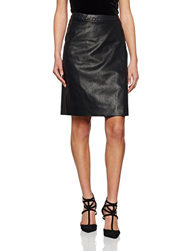 VERO MODA Damen Rock Vmmandy Nw Knee Pu Skirt