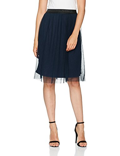 VERO MODA Damen Rock Vmmasha Pleat Hw Abk Skirt Dnm Jrs