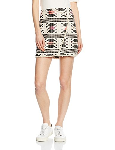 VERO MODA Damen Rock Vmselma Nw Mini Skirt Dnm V Wp2