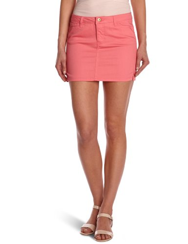 VERO MODA Damen Rock (mini) 10092535 WONDER NW COLOR DENIM MINI SKIRT Stift Normaler Bund