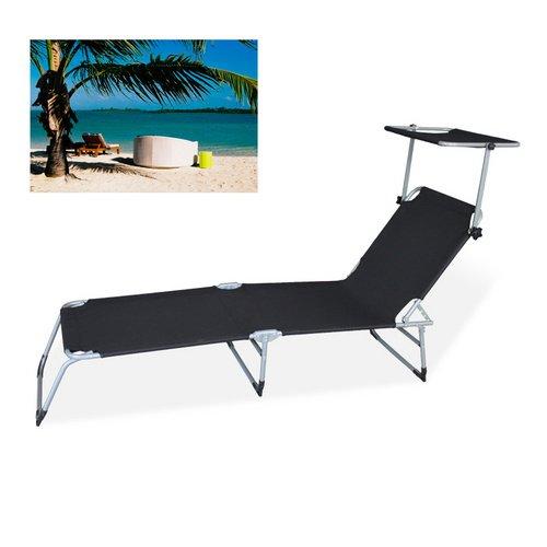 VINGO® Liege Sonnenliege Strandliege