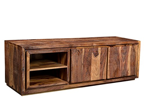 Woodkings® TV-Bank Blackdale Palisander Massivholz TV-Unterschrank Sheesham Holz Design TV-Möbel Holzmöbel